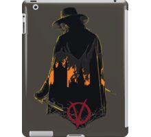 V for Vendetta 1st Version. iPad Case/Skin