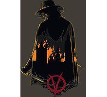 V for Vendetta 1st Version. Photographic Print
