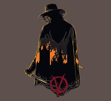 V for Vendetta 1st Version. Unisex T-Shirt
