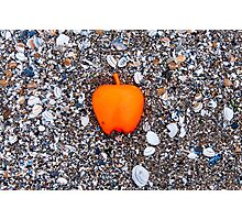 Apple on the Beach - part 2 Photographic Print