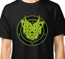 6xEyes Satanic Cat Classic T-Shirt