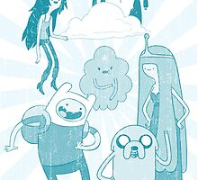 Adventure Time Blue Version by jeice27