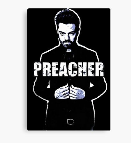 preacher,tv,series, Canvas Print