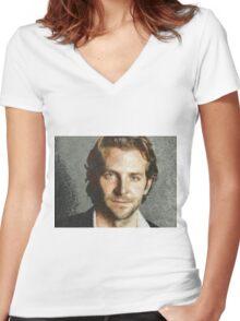 Bradley Women's Fitted V-Neck T-Shirt