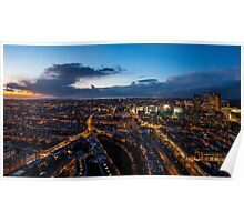 The Hague Aerial Poster
