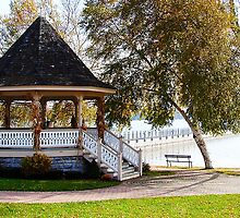 Gazebo at Skaneateles Lake by Mary Ellen Tuite Photography