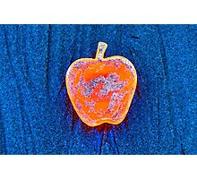 Apple on the Beach - part 5 Photographic Print