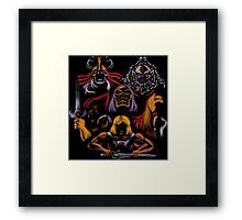 BATTLE OF THE MASTERS Framed Print