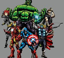 Avengers Assemble! by EJTees