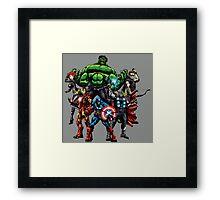 Avengers Assemble! Framed Print