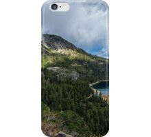 Emerald Bay (with clouds) iPhone Case/Skin