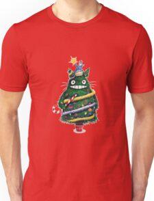 Christmas tree Totoro Unisex T-Shirt