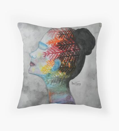 Forests Throw Pillow