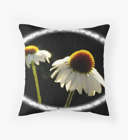A Pair of African Daisies Throw Pillow