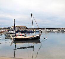 Lyme Regis Harbour - Impressions by Susie Peek