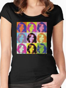 Michele Obama FLOTUS  Women's Fitted Scoop T-Shirt
