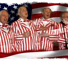 The Four Old Parts Sing the National Anthem by Kenneth Hoffman