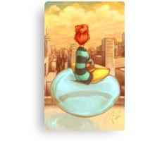 Personal Bubble Canvas Print