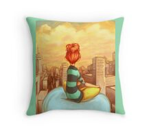 Personal Bubble Throw Pillow