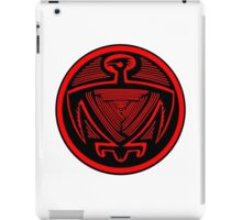Mimbres Bird in Red iPad Case/Skin