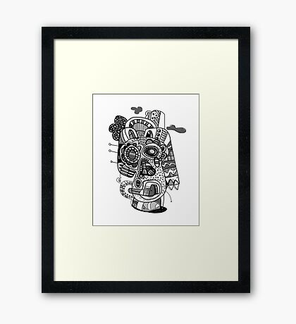 Bone Pharaoh  Framed Print
