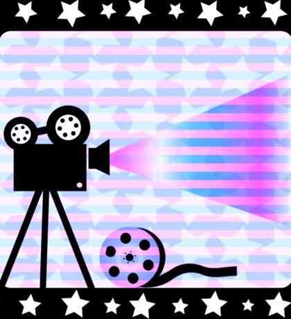 Old movies nostalgia Sticker