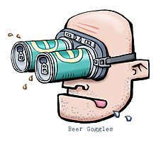 Beer Goggles Photographic Print
