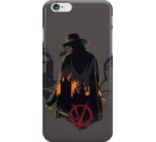 V for Vendetta 2nd Version. iPhone Case/Skin
