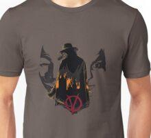 V for Vendetta 2nd Version. Unisex T-Shirt