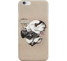 Armed Fish Grafitti iPhone Cover iPhone Case/Skin
