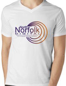 North Norfolk Digital Mens V-Neck T-Shirt
