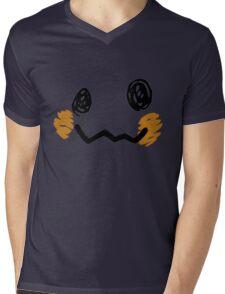 Mimikyu Face - Pokemon Mens V-Neck T-Shirt
