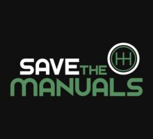 Save The Manuals (2) Baby Tee