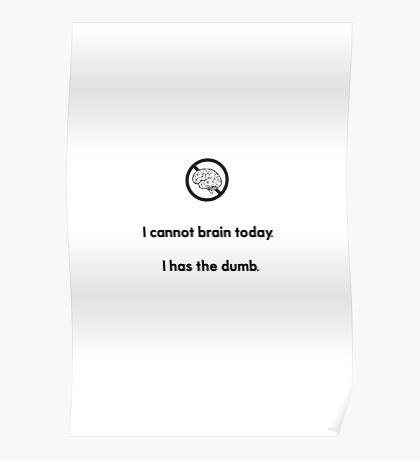 I has the dumb Poster