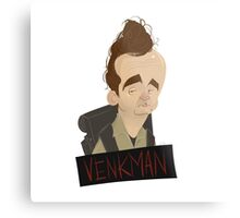 Ghostbusters: Venkman Caricature  Metal Print