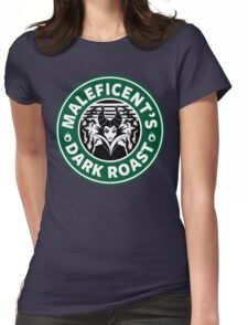 Maleficent's Dark Roast Womens Fitted T-Shirt