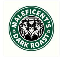 Maleficent's Dark Roast Art Print