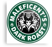 Maleficent's Dark Roast Metal Print