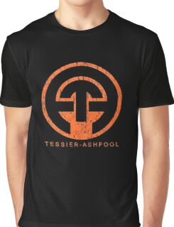 Neuromancer Cyberpunk Tessier Ashpool Corporation Graphic T-Shirt
