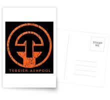 Neuromancer Cyberpunk Tessier Ashpool Corporation Postcards