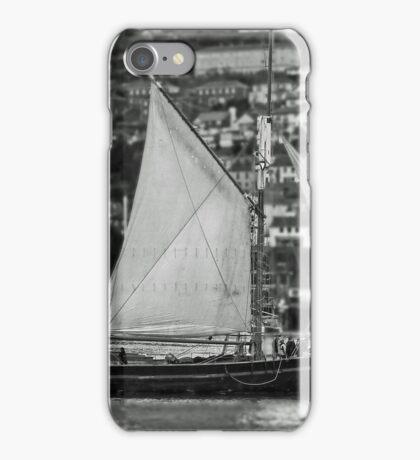 Schooner At Dartmouth iPhone Case/Skin