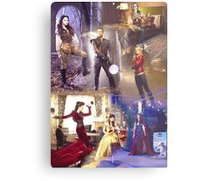 Once Upon A Time - main cast Metal Print