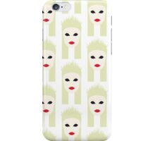Minimalist Futuristic Yolandi Vi$$er Pattern iPhone Case/Skin