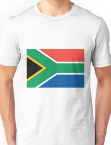 South Africa flag Unisex T-Shirt