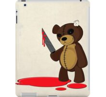 Psycho Teddy iPad Case/Skin