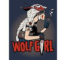 Wolf Girl Photographic Print