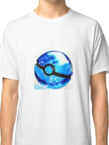 Water great Pokeball Classic T-Shirt