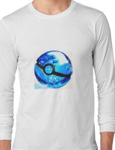Water great Pokeball Long Sleeve T-Shirt