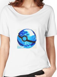 Water great Pokeball Women's Relaxed Fit T-Shirt