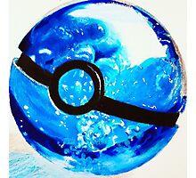 Water great Pokeball Photographic Print